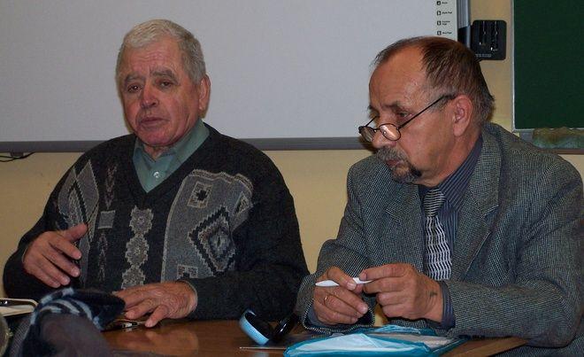 Inicjatorem akcji jest Jan Smolorz (od lewej)