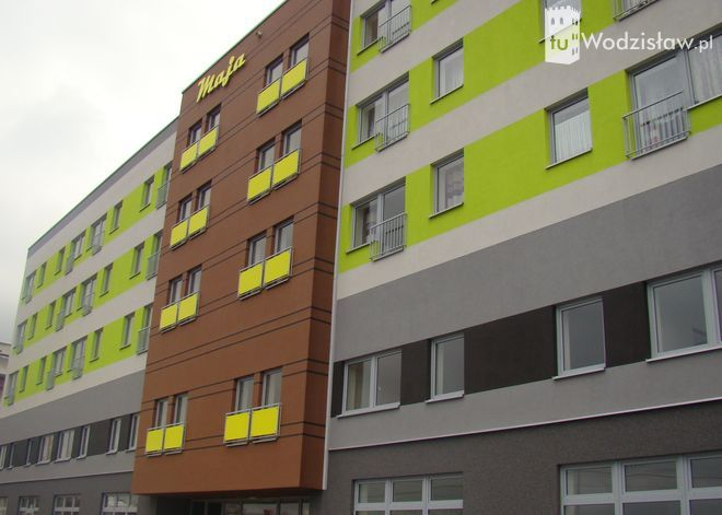 W Wodzisławiu wybudowali nietypowy blok bez barier, Monika Krzepina