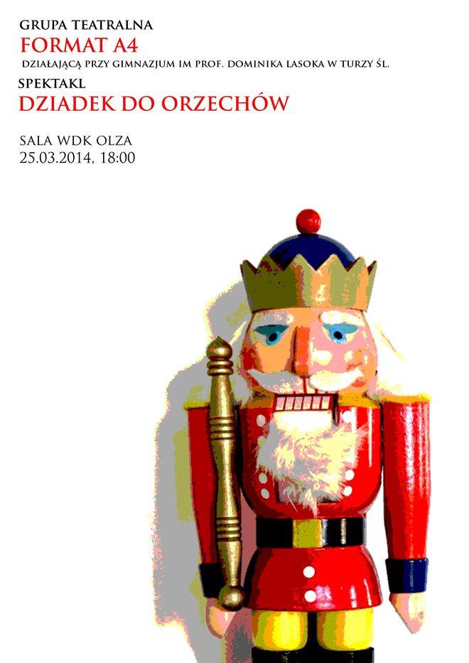 Spektakl Grupy Format A4 w WDK Olza, Materiały prasowe