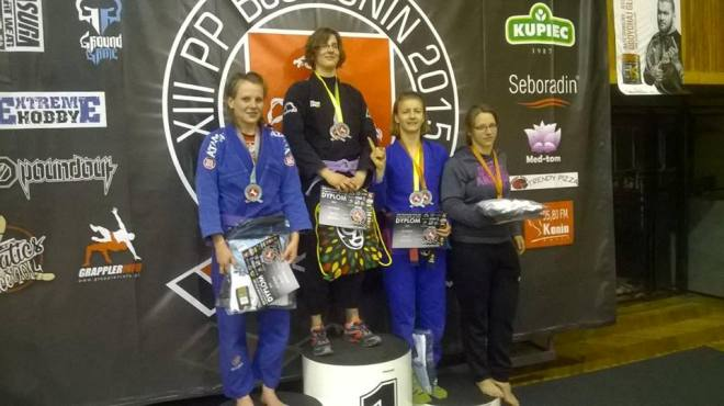 Sandra Paniak (po lewej) pokazała ogromne umiejętności i wolę walki