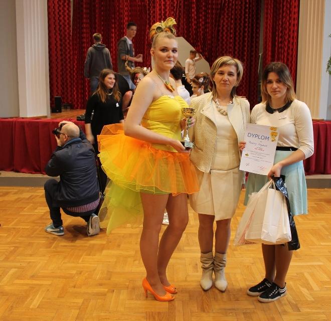 Duży sukces młodej fryzjerki z ZSP w Pszowie, materiały prasowe ZSP Pszów