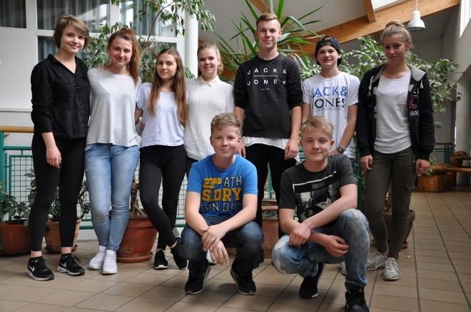 Młodzież z wodzisławskiego G1 z wizytą w Niemczech , materiały prasowe ZS 2 Wodzisław Śląski