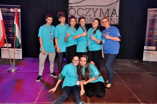 Wodzisławskie G1 na podium XI Ogólnopolskiej Olimpiady Kreatywności! ,  materiały prasowe G1 Wodzisław Śląski