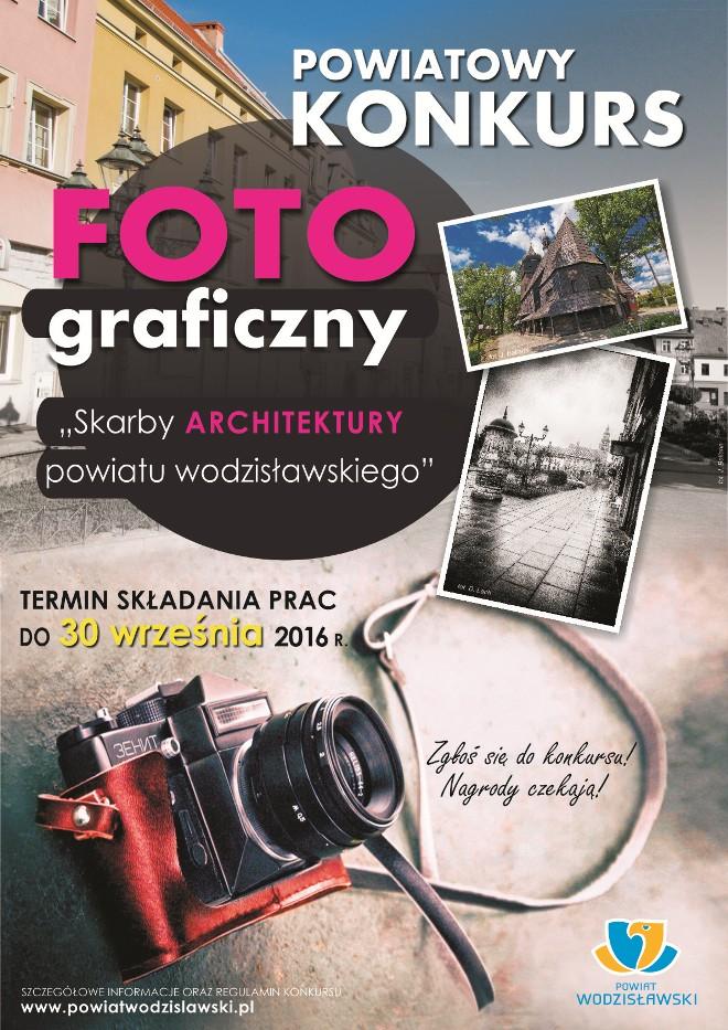 Weź aparat, odkryj skarby architektury powiatu i wygraj nagrody, materiały prasowe Powiat Wodzisławski
