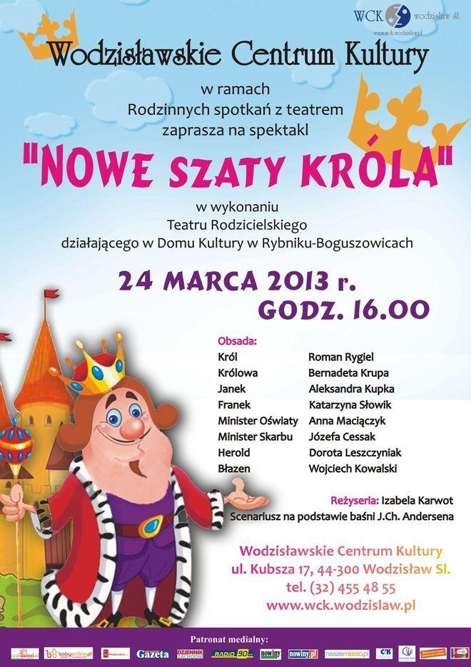 Teatr Rodzicielski z Rybnika wystąpi dla najmłodszych, Materiały prasowe