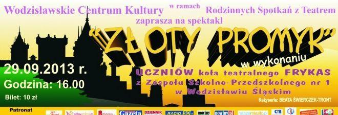 """Wracają """"Rodzinne Spotkania z Teatrem"""" w WCK, Materiały prasowe"""