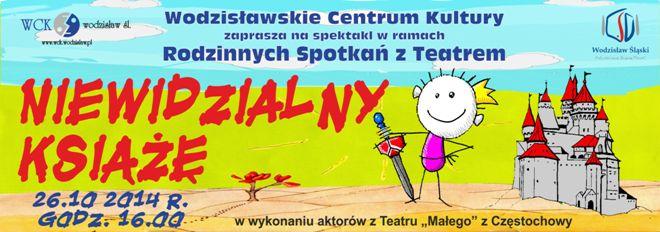"""WCK: Wracają """"Rodzinne Spotkania z Teatrem"""", materiały prasowe"""