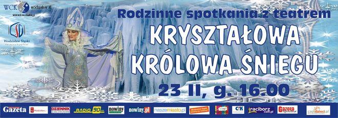"""""""Kryształowa Królowa Śniegu"""" na scenie WCK (wygraj bilety), Materiały prasowe"""