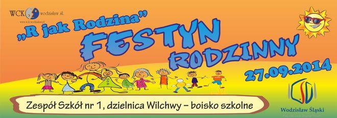 """R jak rodzina"""", czyli festyn rodzinny na Wilchwach w ZS1, Materiały prasowe"""