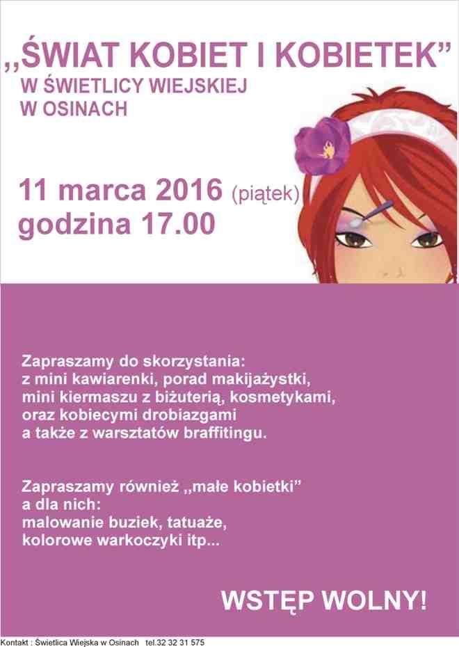 Kobiece atrakcje z WDK Gorzyce, materiały prasowe
