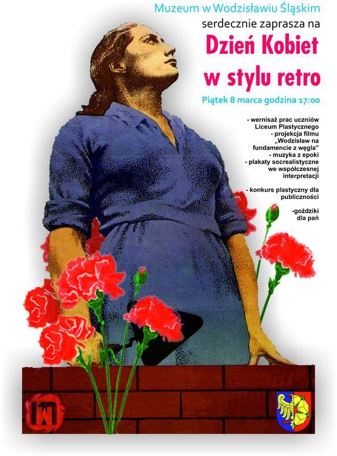 Muzeum: Dzień Kobiet w stylu retro!, Materiały prasowe