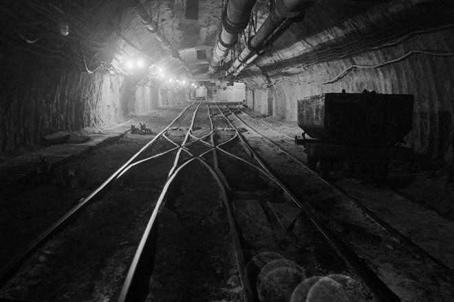 Finisaż wystawy fotografii górniczej w WDK Olza, Bolesław Dymiński, materiały prasowe