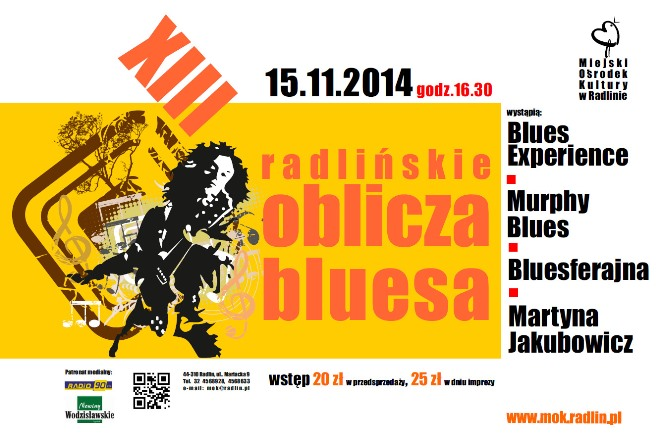 MOK Radlin: Wieczór z bluesem, materiały prasowe
