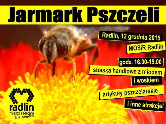 Dary pszczół na jarmarku w Radlinie! , materiały prasowe