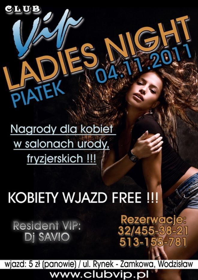 Club VIP: Ladies Night i Dj Fox, Materiały prasowe