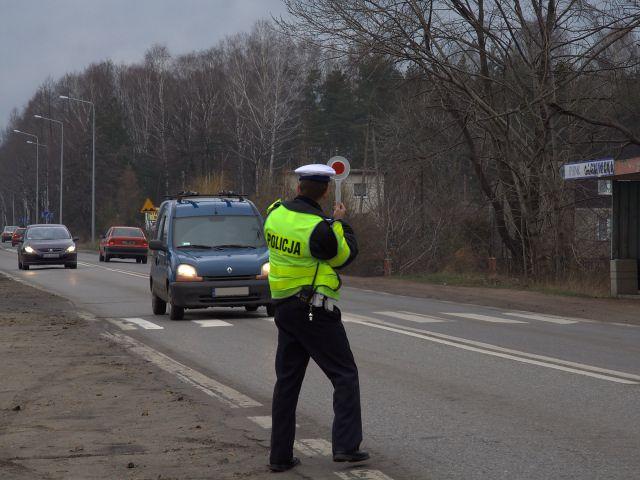 Policja zamknie DW 933