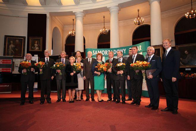 Burmistrz Radlina otrzymała samorządowego oskara, materiały prasowe