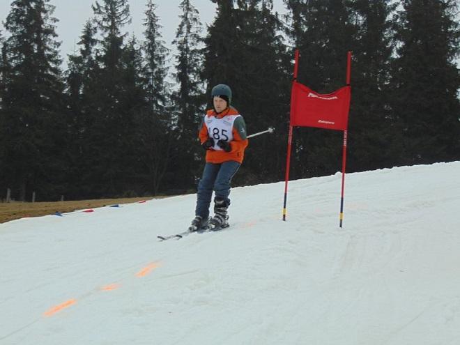 Zawodnik gorzyckich ''Tygrysów'' zanotował bardzo dobry występ na IX Ogólnopolskich Zimowych Igrzyskach Olimpiad Specjalnych