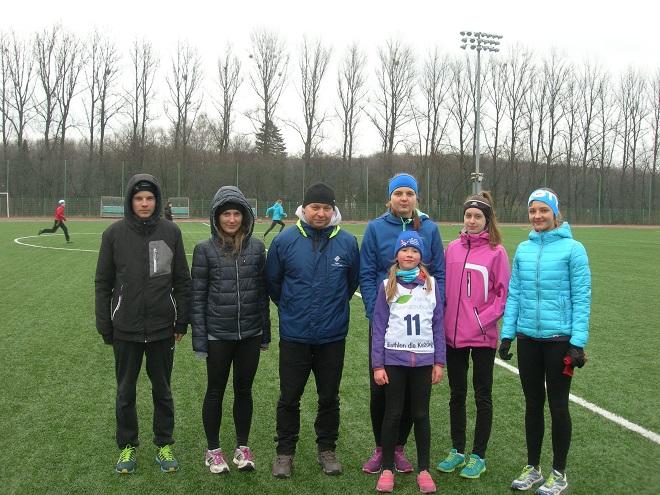 Zawodnicy MKS-u Wodzisław i uczniowie G3 Mistrzostwa Sportowego wzięli udział w zawodach biathlonowych na Stadionie Śląskim
