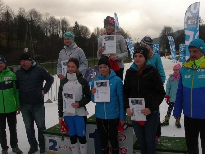 Młodzi wodzisławianie wystartowali w narciarskich zawodach biegowych ligi śląsko-beskidzkiej