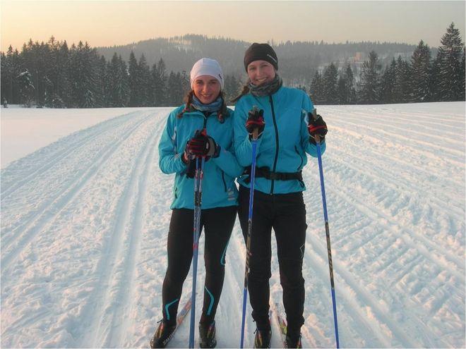 Sonia Fulneczek i Dominika Bielecka