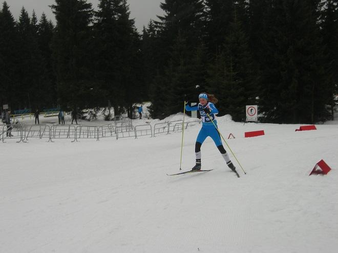 Narciarka MKS-u Wodzisław Śląski, Katarzyna Niemirska, zdobyła 4. miejsce w ostatnich zawodach narciarskich bieżącego sezonu