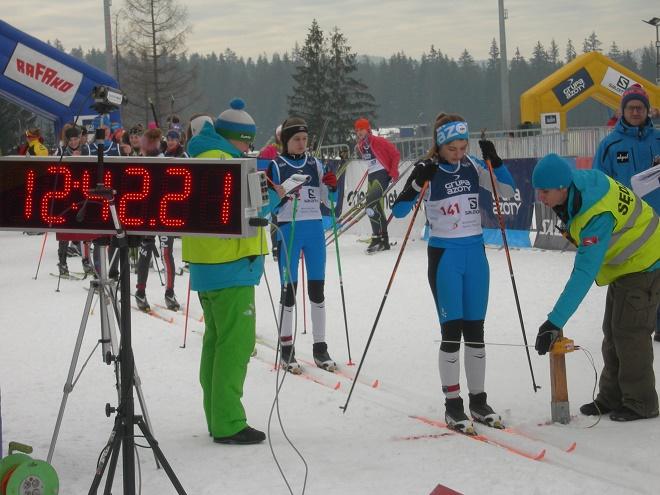 Zawodnicy MKS Wodzisław Śl. dobrze zaprezentowali się na biegowych zawodach w Zakopanem w ramach Pucharu Polski