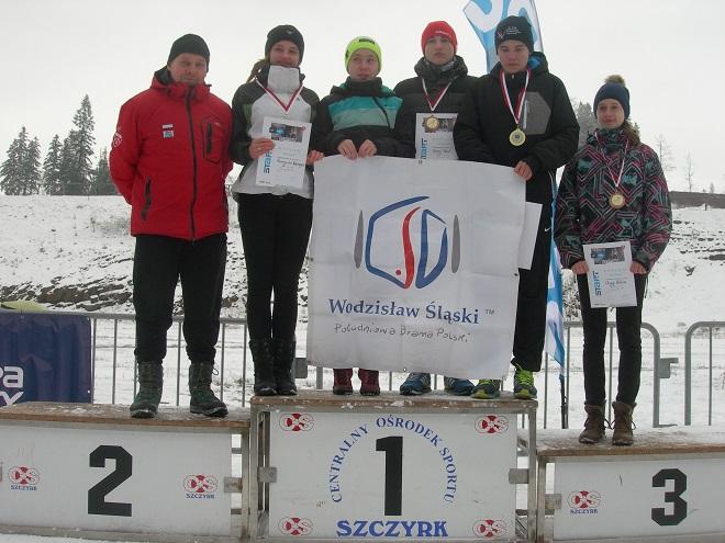 Cztery medale przywieźli zawodnicy MKS Wodzisław Śląski z finałowych zawodów o Mistrzostwo Śląska