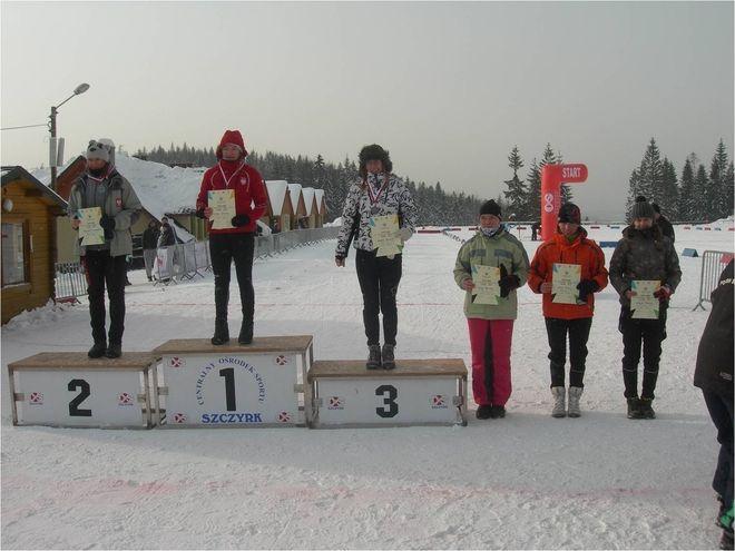 Dominika Bielecka na podium Ogólnopolskiej Olimpiady Młodzieży