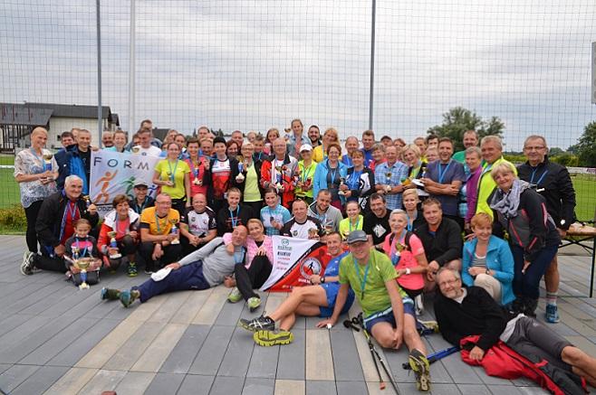 Za nami III Mistrzostwa Powiatu Wodzisławskiego w Nordic Walking. Frekwencja dopisała, Starostwo Powiatowe