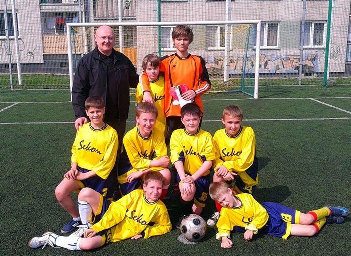 Zwycięska ekipa ze Szkoły Podstawowej nr 28