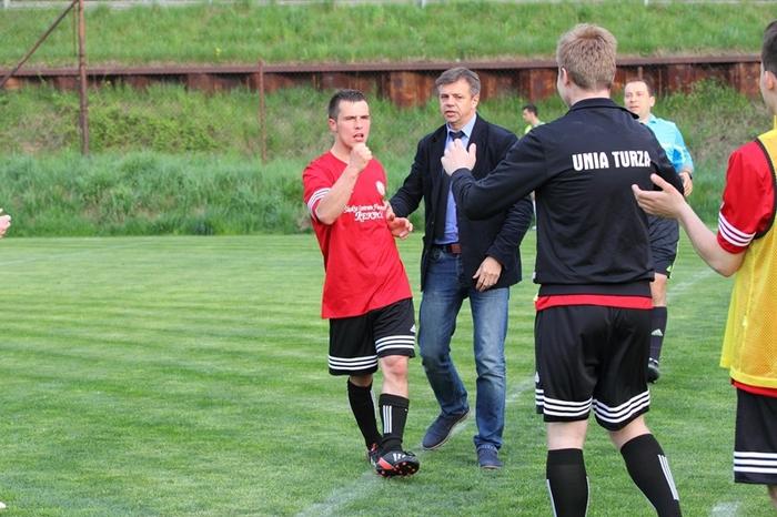 Unia Turza Śląska zremisowała 2:2 z Granicą Ruptawa w meczu na własnym boisku