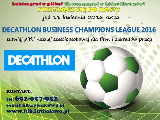 Decathlon Business Champions League rusza 11 kwietnia. Do 20 marca potrwają zgłoszenia zakładów pracy
