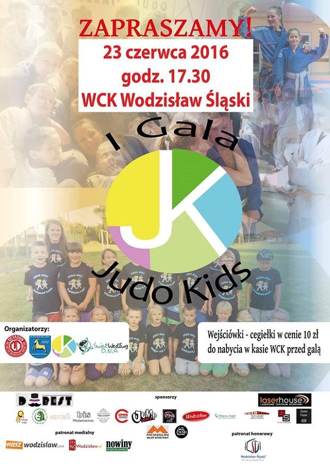 23 czerwca odbędzie się w Wodzisławiu Śląskim premierowa edycja Gali Judo Kids