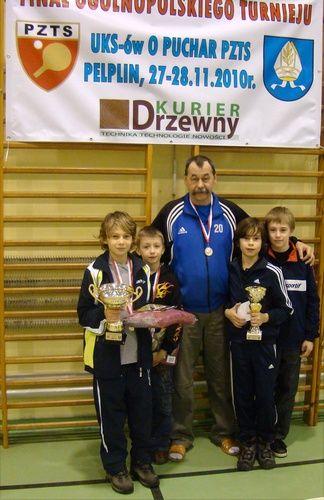 Drugie miejsce w finałach ogólnopolskich jest największym sukcesem sportowym zawodników