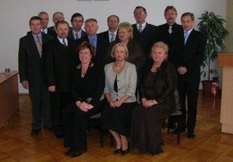 Na pierwszej sesji wybrano przewodniczących