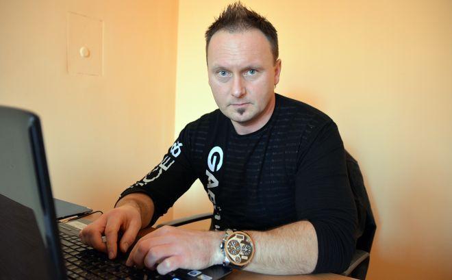 Nowy kierownik basenu Mariusz Blazy